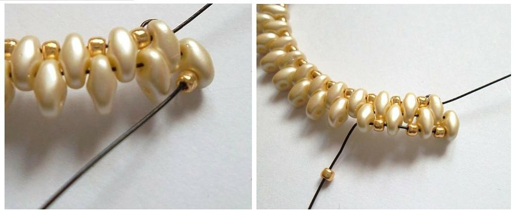 Jak zrobić bransoletkę Etap 3-2