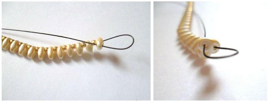 jak zrobić bransoletkę - Etap 2-1